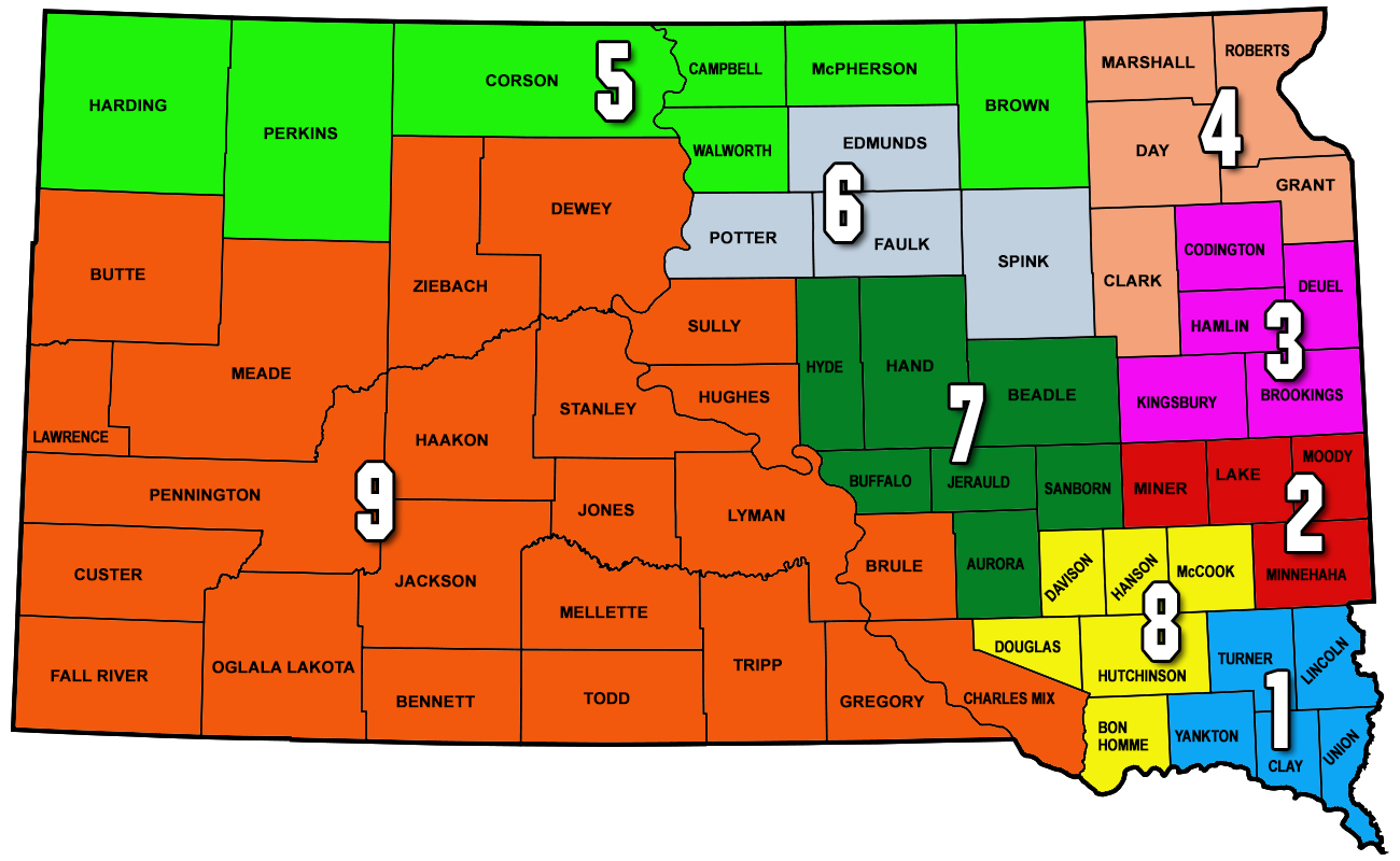 SD Corn Utilization Council South Dakota Corn - Us map with south dakota