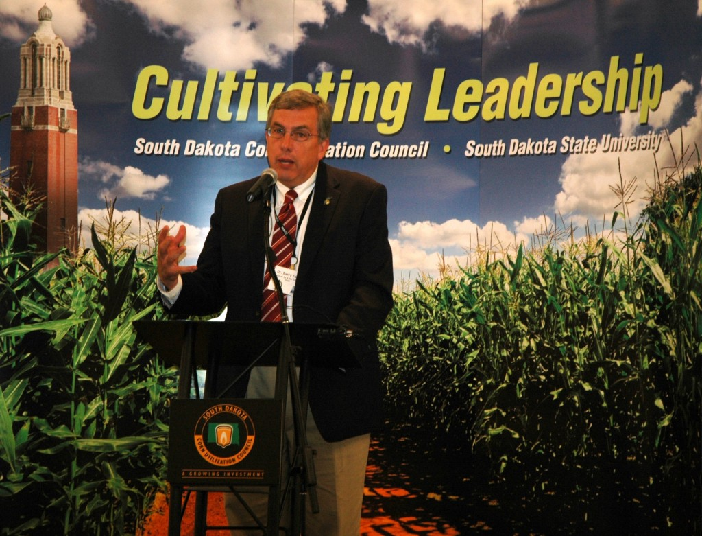 South Dakota State University Dean of Ag/Bio, Dr. Barry Dunn