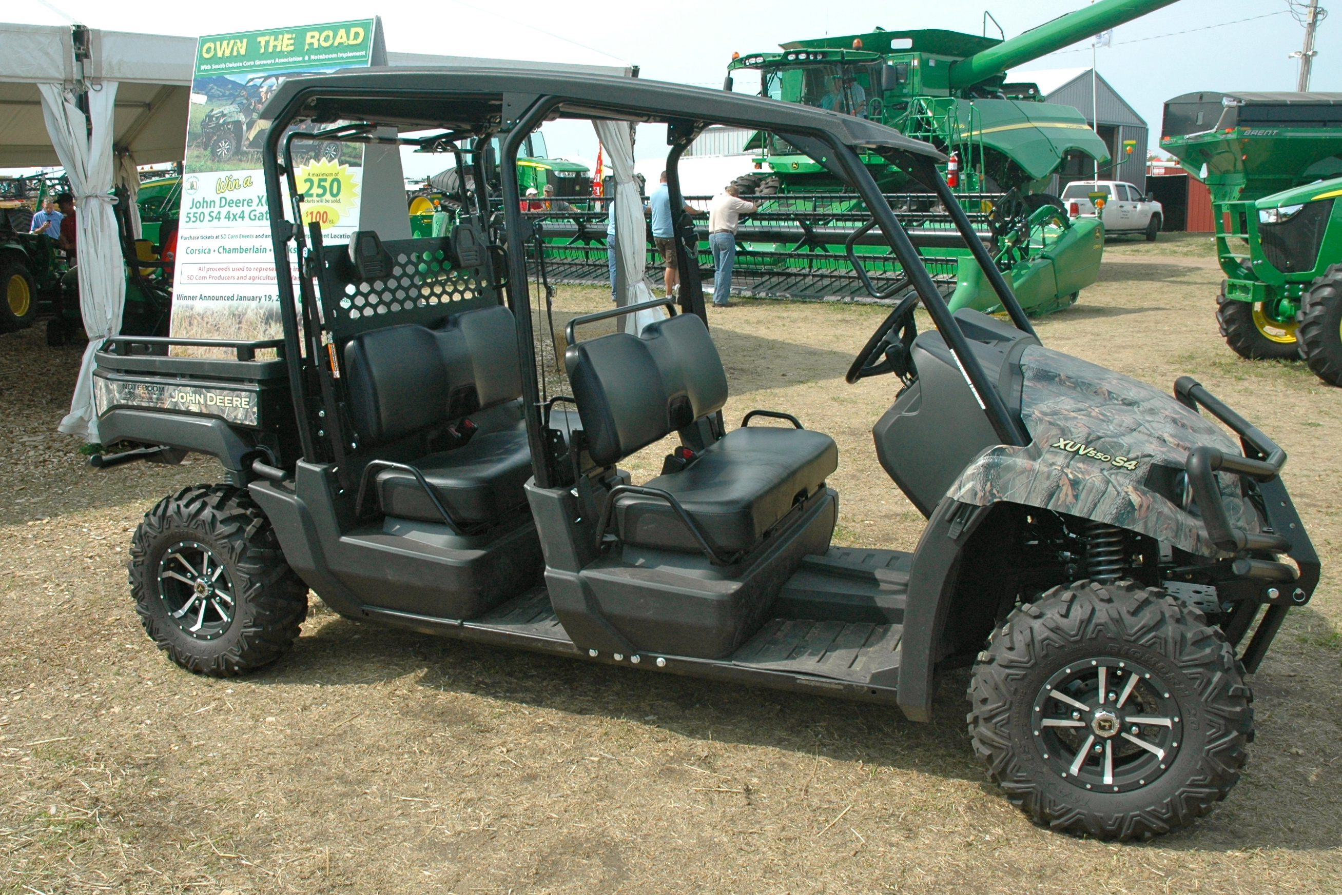 You could win this John Deere Gator
