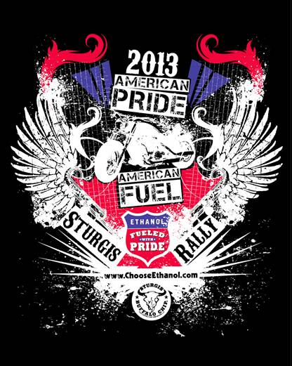 2013 American Pride Sturgis Rally poster