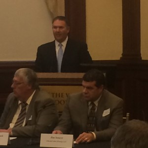 SDCGA president Mark Gross testifies at the Hearing in the Heartland.